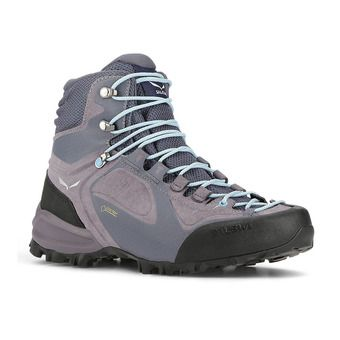 Salewa ALPENVIOLET GTX - Hiking Shoes - Women's - grisaille/ethernal blue