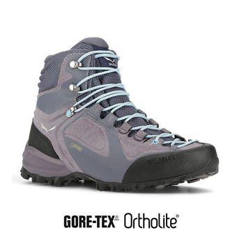 Chaussures de randonnée femme ALPENVIOLET MID GTX grisaille /ethernal blue