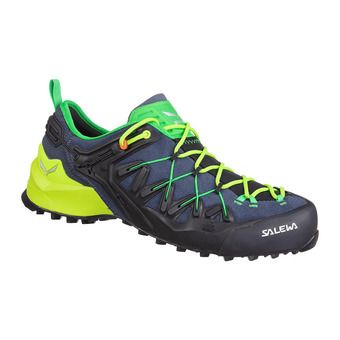 Salewa WILDFIRE EDGE - Approach Shoes - Men's - ombre blue