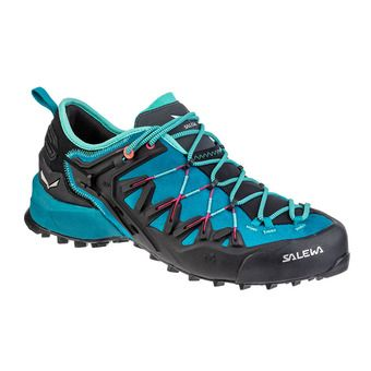 Salewa WILDFIRE EDGE - Approach Shoes - Women's -malta/vivacious