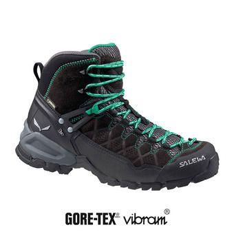 Zapatillas de senderismo mujer ALP TRAINER MID GTX black out/agata