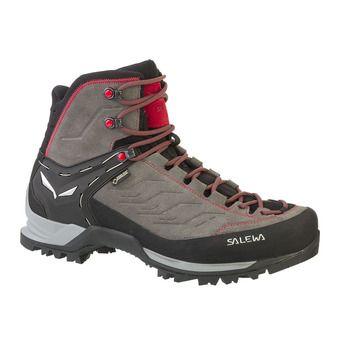 Salewa MTN TRAINER GTX - Trekking Shoes - Men's - charcoal/papavero