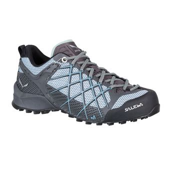 Salewa WILDFIRE - Approach Shoes - Women's - magnet/blue fog