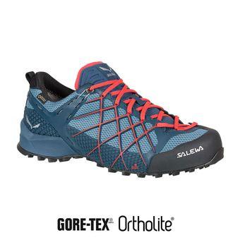 Salewa WILDFIRE GTX - Chaussures approche Homme dark denim/papavero