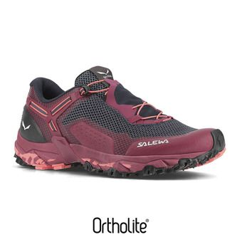 Zapatillas de senderismo mujer ULTRA TRAIN 2 red plum/punch