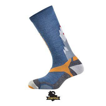 Paire de chaussettes ALL MOUNTAIN blue/orange
