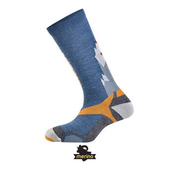 Salewa ALL MOUNTAIN - Chaussettes blue/orange