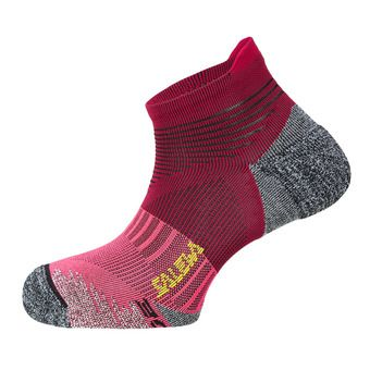 Salewa APPROACH EDGE - Chaussettes Homme red plum/fluo coral