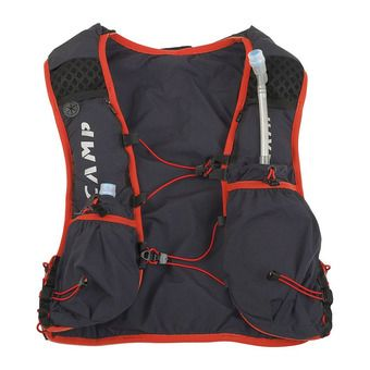 Camp TRAIL FORCE 10L - Sac d'hydratation gris/rouge