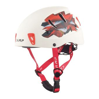Camp ARMOUR - Casque alpinisme blanc/rouge