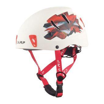 Casque alpinisme ARMOUR blanc/rouge