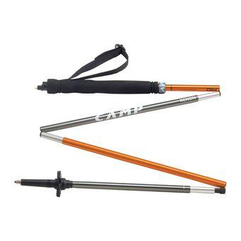 Paire de bâtons de randonnée XENON PRO orange/gris