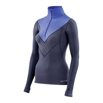 Maillot ML femme DNAMIC THERMAL navy blue/bright blue