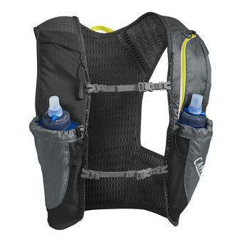 Gilet d'hydratation 1.5L NANO™ + 2 flasques 0.5L QUICK STOW™ graphite/sulphur spring