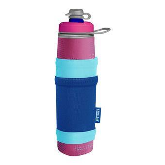 Camelbak PEAK FITNESS CHILL - Gourde 710ml + housse pink/blue