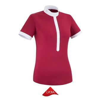 Polo de competición mujer AEROLIGHT III ruby