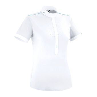 Horse Pilot AEROLIGHT - Show Polo Shirt - Women's - white