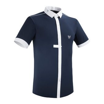 Horse Pilot AEROLIGHT - Show Polo Shirt - Men's - navy