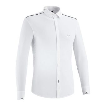 Horse Pilot AEROLIGHT - Polo concours Homme white