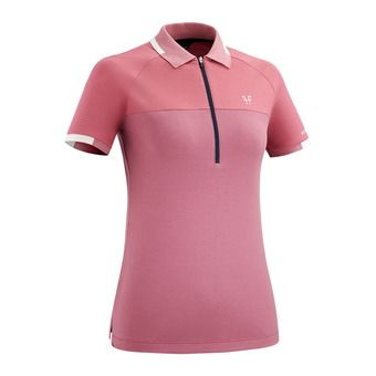 Polo MC femme ARIIA III misty pink