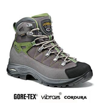 Asolo FINDER GV GTX - Zapatillas de senderismo mujer grigio/gunmetal/grap