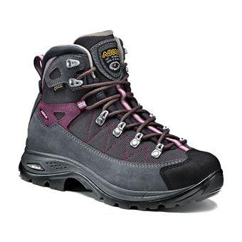Asolo FINDER GV GTX - Chaussures randonnée Femme grigio/gunmetal/grap