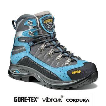 Asolo DRIFTER GV EVO GTX - Zapatillas de senderismo mujer azure/stone