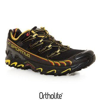 La Sportiva ULTRA RAPTOR - Shoes - Men's - black/yellow