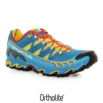 Zapatillas de trail hombre ULTRA RAPTOR yellow/blue
