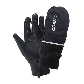 Craft HYBRID WEATHER - Gants 2 en 1 black