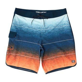 Boardshort homme 73 STRIPE PRO orange