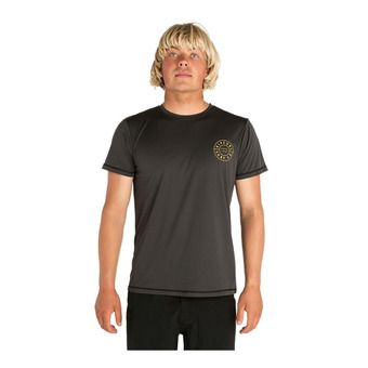 Rip Curl COMPASS - Tee-shirt Homme dark grey
