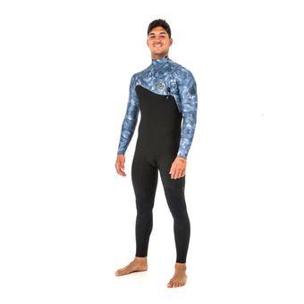 LS Full Wetsuit 3/2mm - Men's - E-BOMB ZIP FREE grey