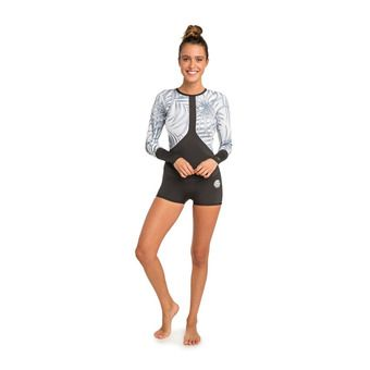 LS Short Wetsuit 1mm - Women's - MADI BOYLEG off white