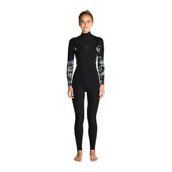 LS Full Wetsuit 3/2mm - Women's - FLASHBOMB STMR black/grey