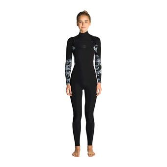 Rip Curl FLASHBOMB STMR - Traje 4/3mm mujer black/grey