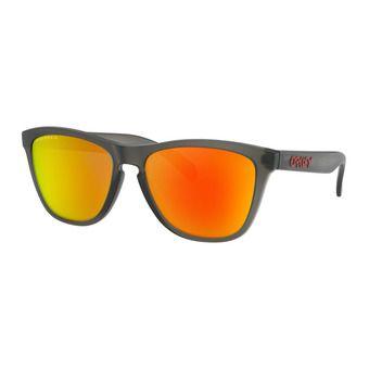 Oakley FROGSKINS - Lunettes de soleil polarisées matte grey smoke/prizm ruby