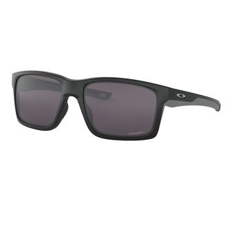 Oakley MAINLINK - Sunglasses - matt black/prizm grey