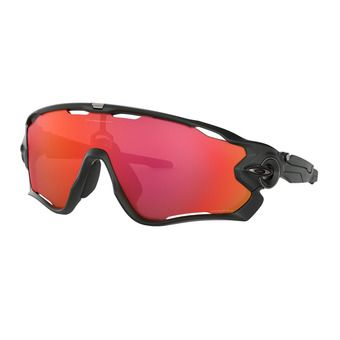 Oakley JAWBREAKER - Sunglasses - matt black/prizm trail torch