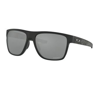 Oakley CROSSRANGE XL - Sunglasses - matt black prizmatic/prizm black