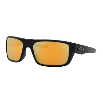 Oakley DROP POINT - Polarised Sunglasses - polished black/prizm 24k