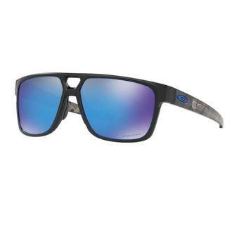 Oakley CROSSRANGE PATCH - Lunettes de soleil matte black prizmatic/prizm sapphire