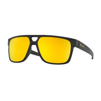 Oakley CROSSRANGE PATCH - Lunettes de soleil matte black/24k iridium