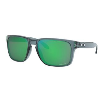 Oakley HOLBROOK XL - Lunettes de soleil crystal black/prizm jade