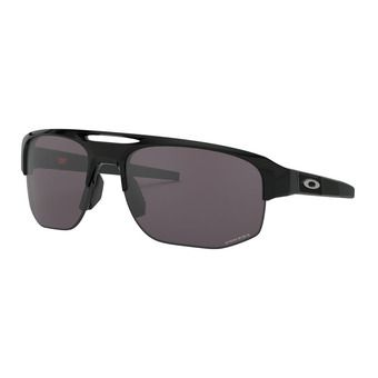 Oakley MERCENARY - Sunglasses - polished black/prizm grey