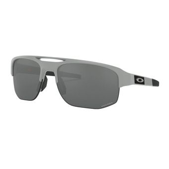 Oakley MERCENARY - Sunglasses - matt fog/prizm black