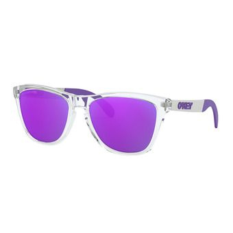 Oakley FROGSKINS MIX - Polarised Sunglasses - polished clear/violet iridium