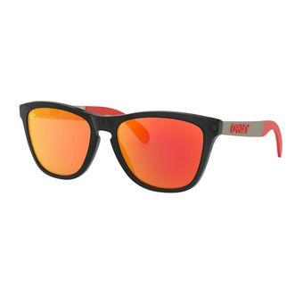 Oakley FROGSKINS MIX - Lunettes de soleil matte black ink/prizm ruby