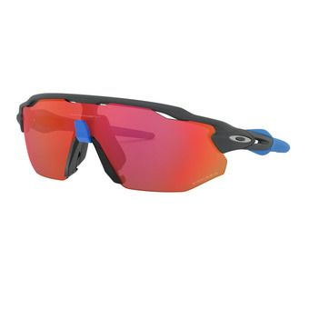 Oakley RADAR EV ADVANCER - Lunettes de soleil matte carbon/prizm trail torch