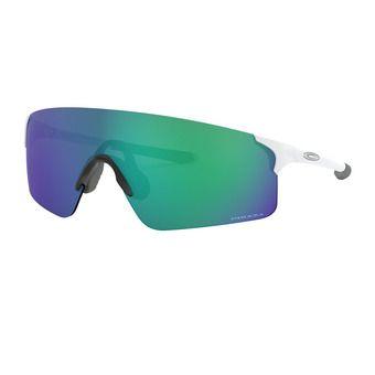 Oakley EVZERO BLADES - Lunettes de soleil matte white/prizm jade